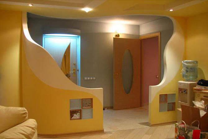 интерьер стандартной 2х комнатной квартиры