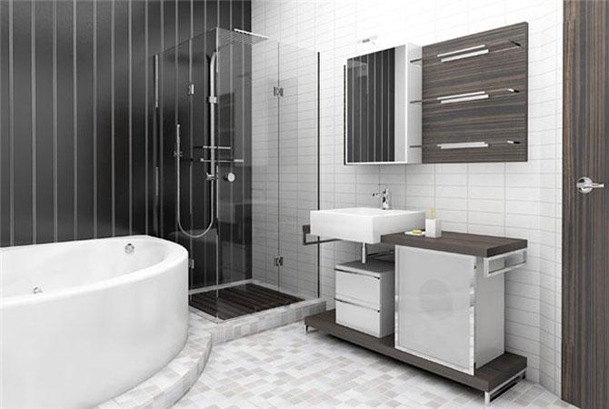 ремонт квартир фото ванная:
