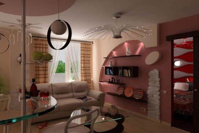 Дизайн узкой гостиной фото дизайн