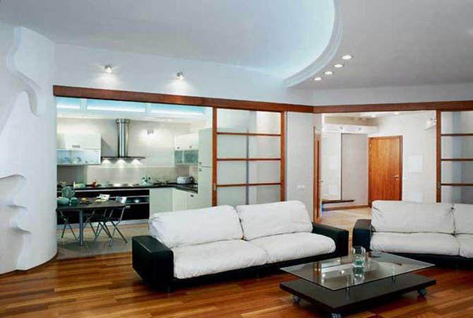 образцы дизайна квартир - фото 5