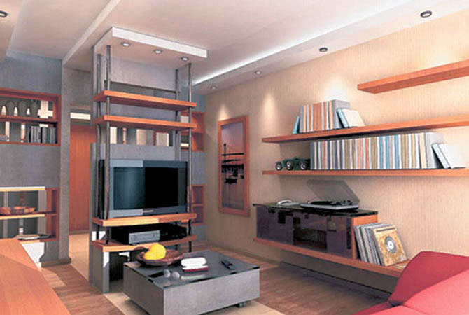 Дизайн 1 комнатной квартиры студии фото