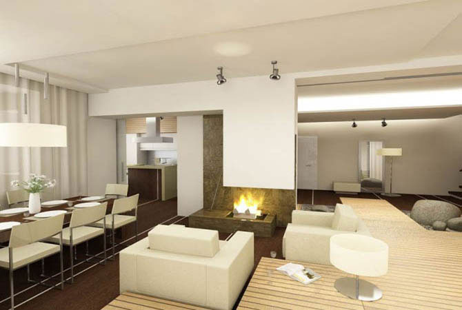 Дизайн квартир из гипсокартона