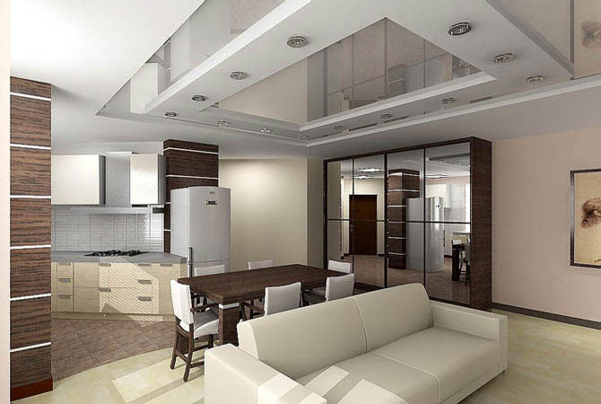 Дизайн коридора в однокомнатной квартире фото
