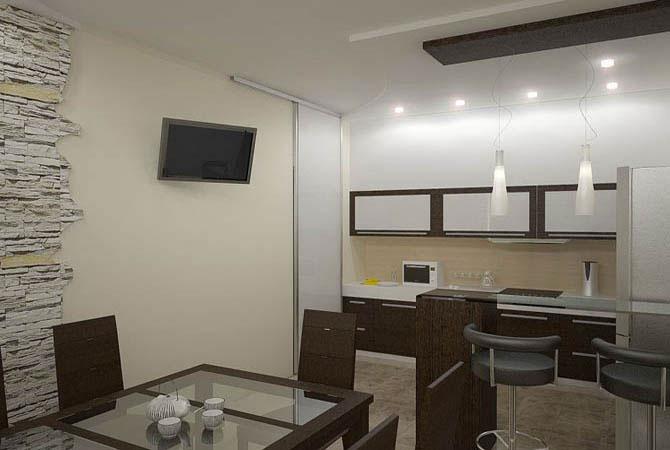 образцы дизайна квартир - фото 8